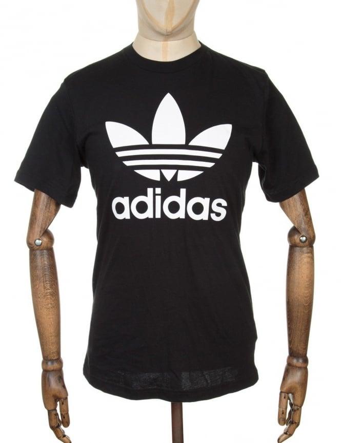 Adidas Originals Original Trefoil T-shirt - Black
