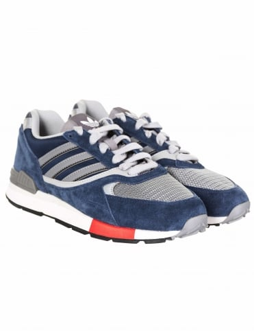 Quesence Shoes - Collegiate Navy/Scarlet