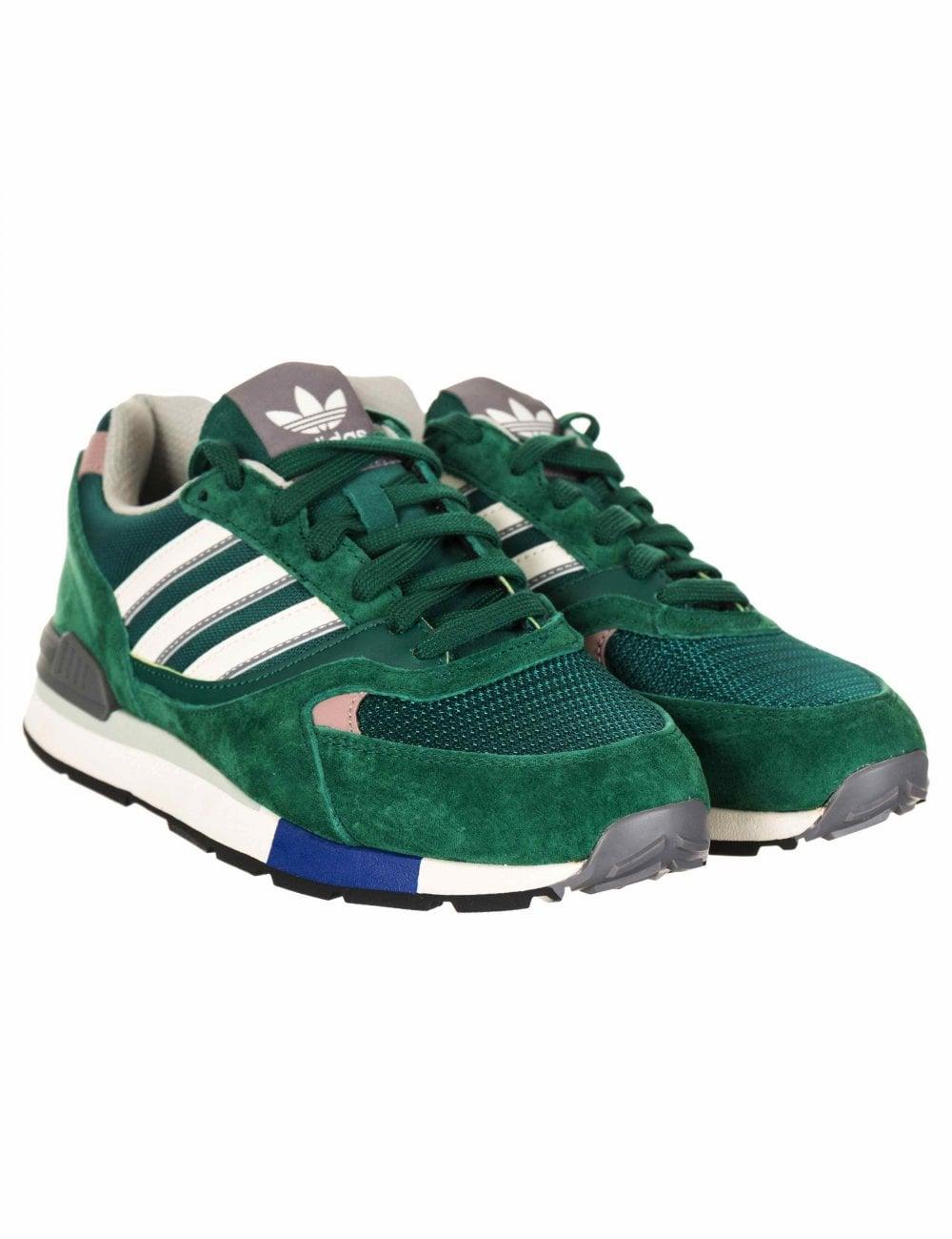 ad24f17175 Quesence Trainers - Collegiate Green/White