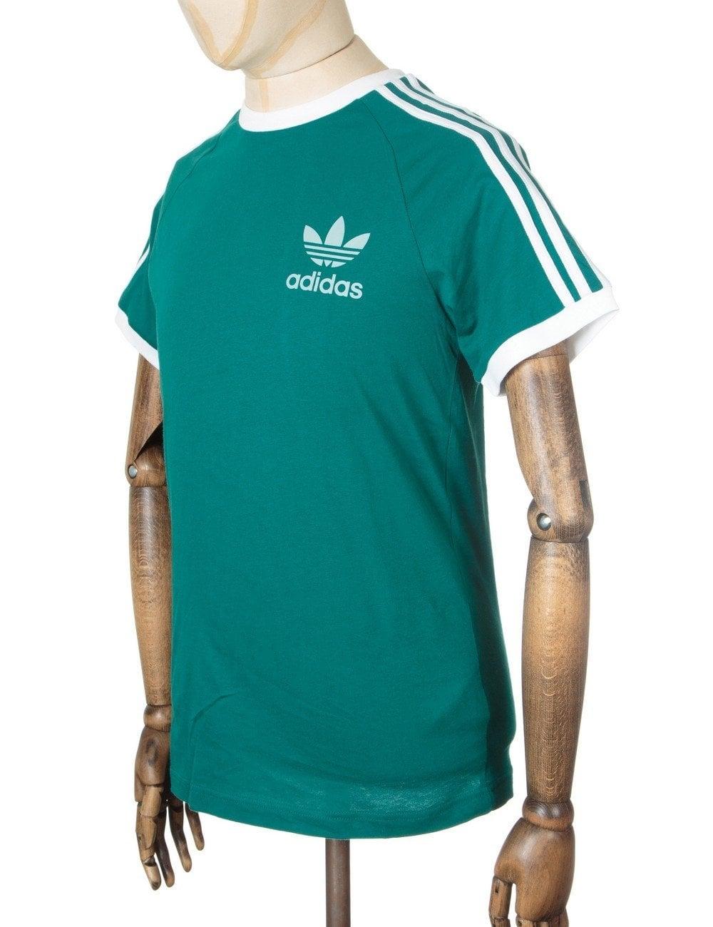 adidas california t shirt emerald