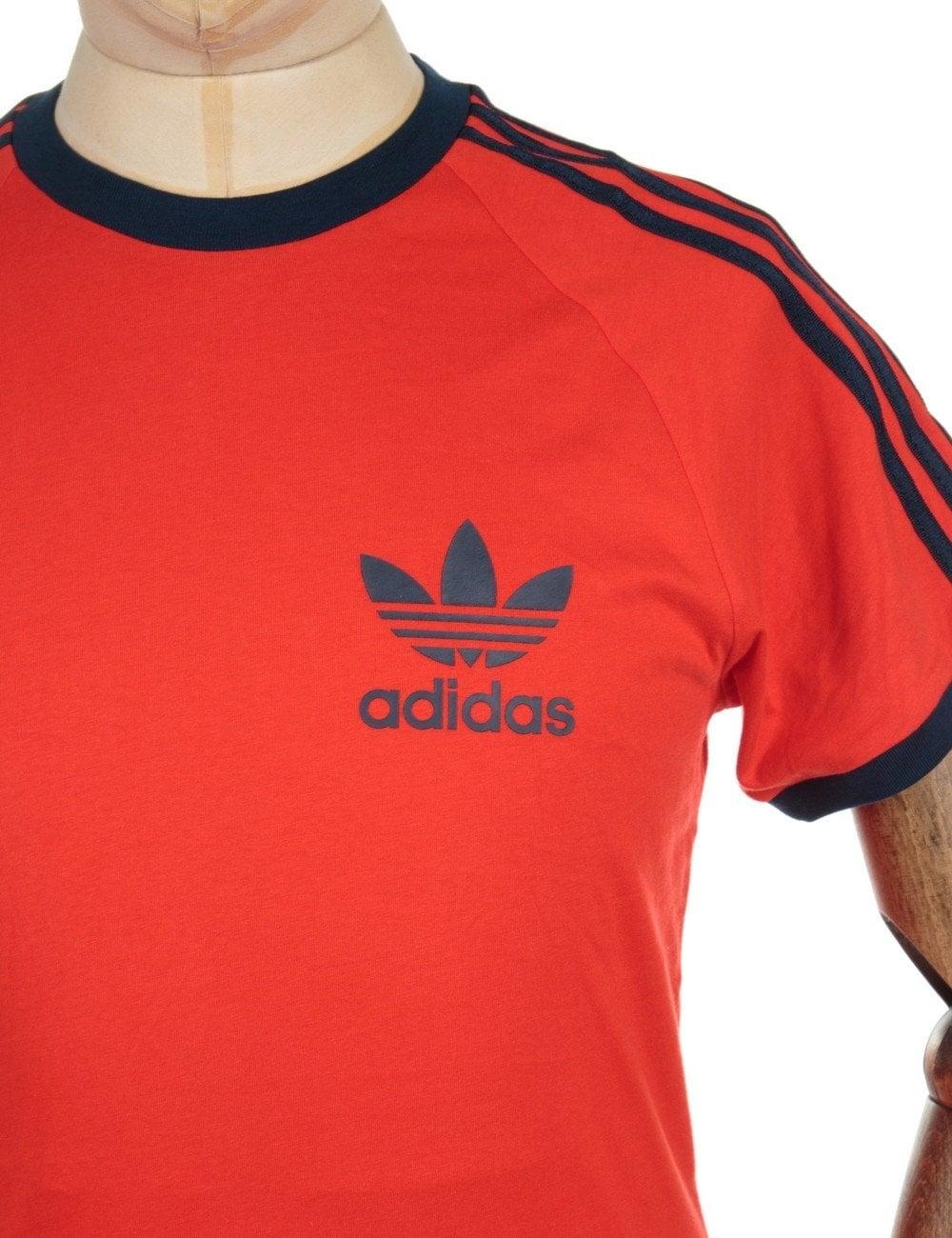 adidas originals shirt red