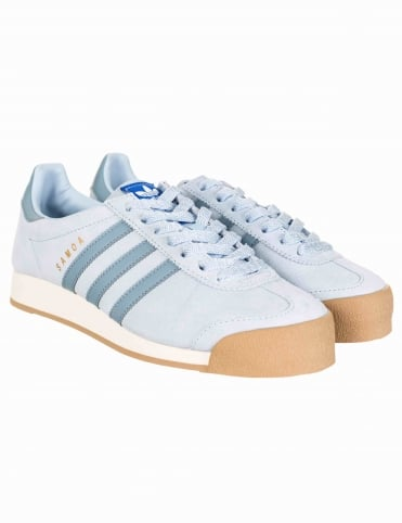 Samoa Vintage Shoes - Vintage Talc Blue/Chalk White