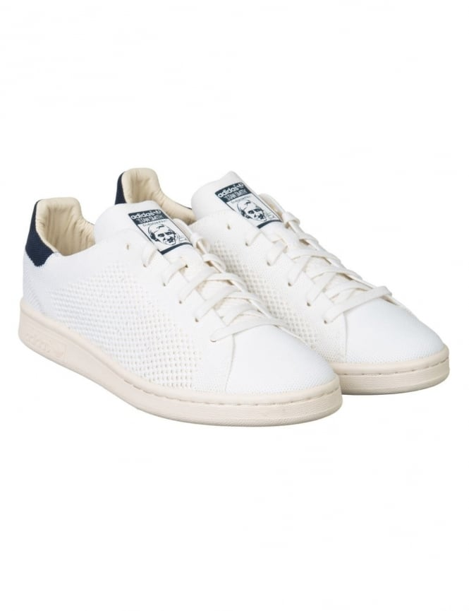 Adidas Originals Stan Smith Primeknit Shoes - White