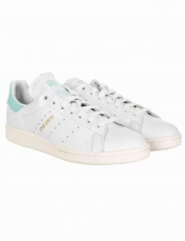 Stan Smith Shoes - Footwear White/Energy Aqua