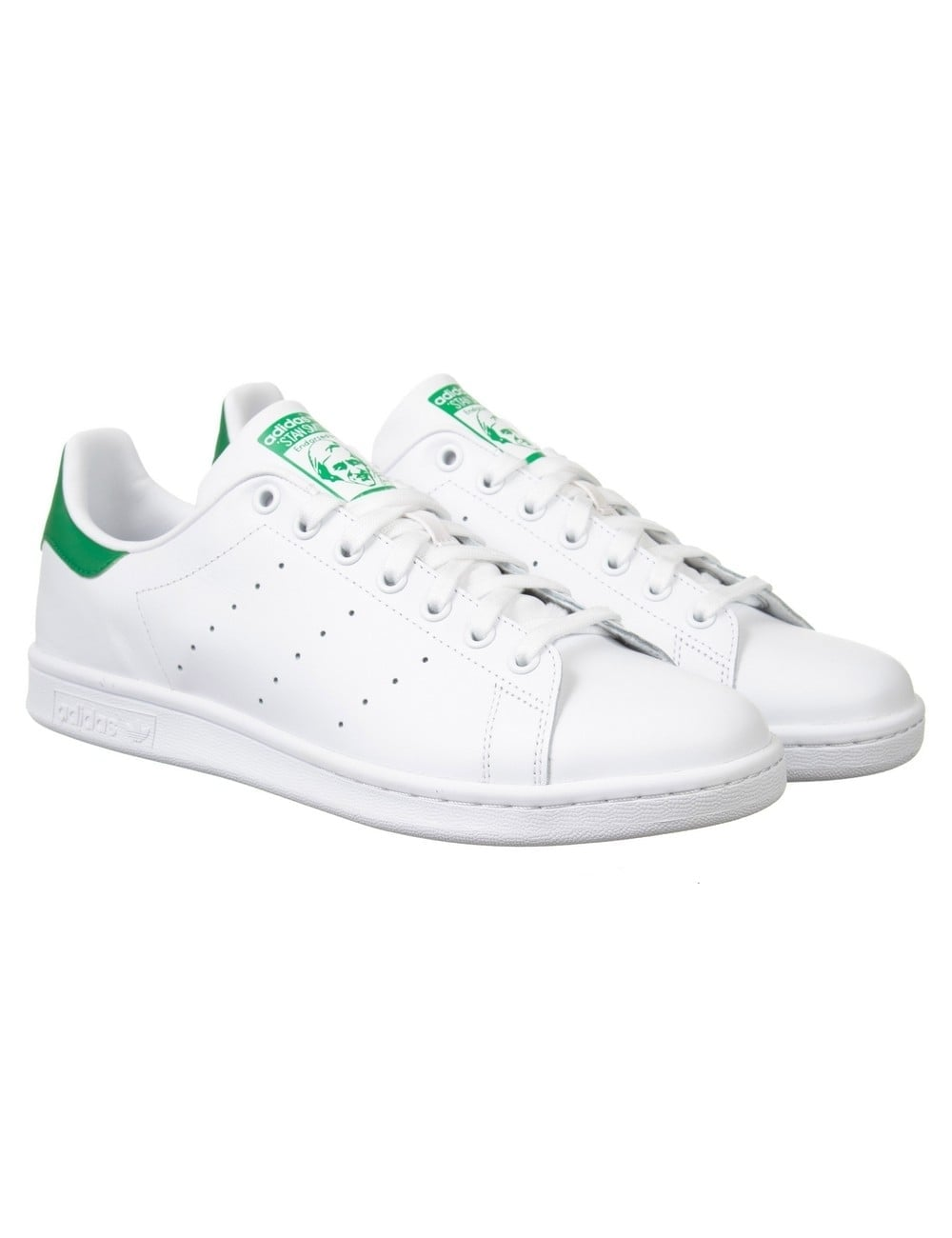 new concept a1c43 317e7 Stan Smith Shoes - White/Green