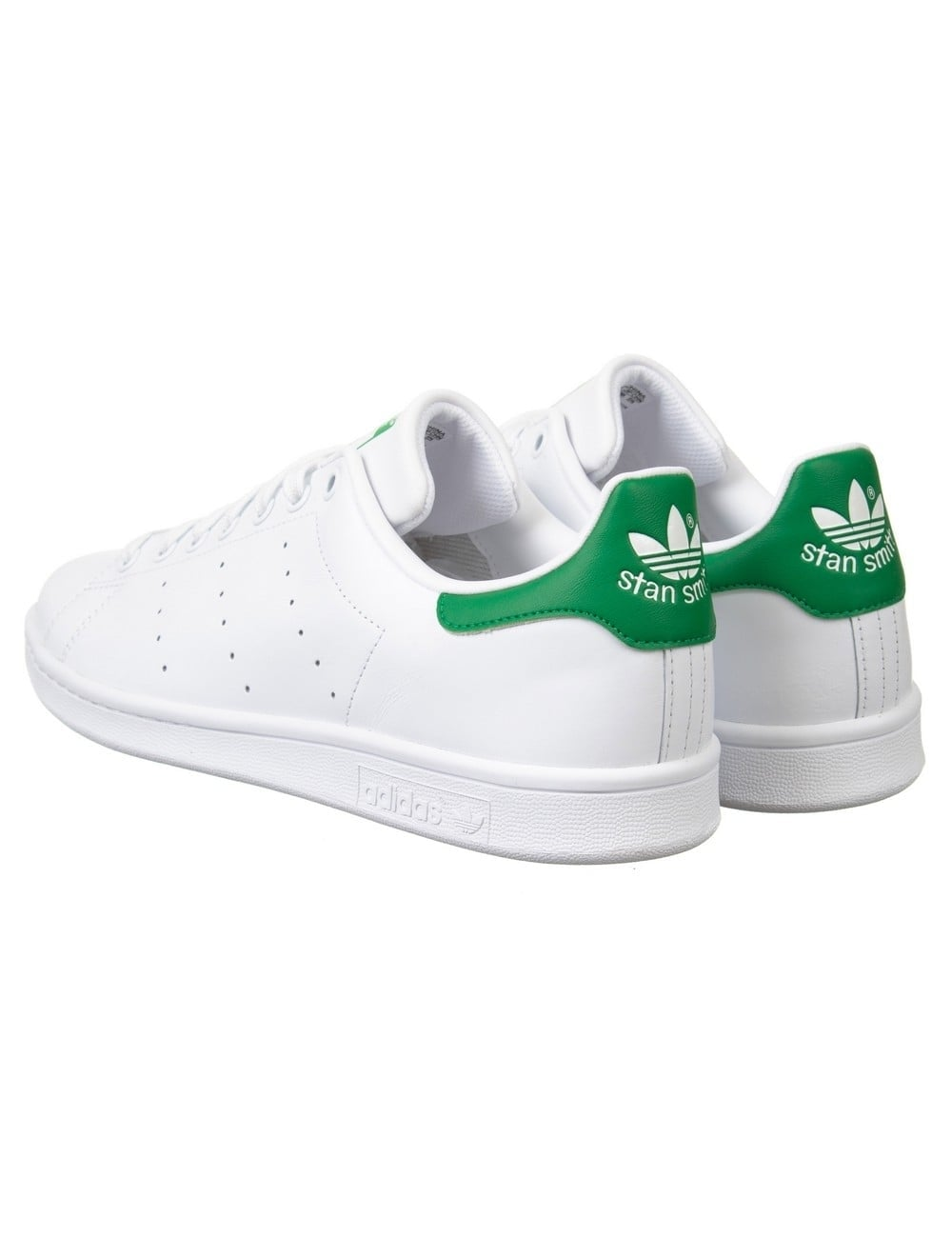 cc4667e9c57 Adidas Originals Stan Smith Shoes - White/Green - Footwear from Fat ...