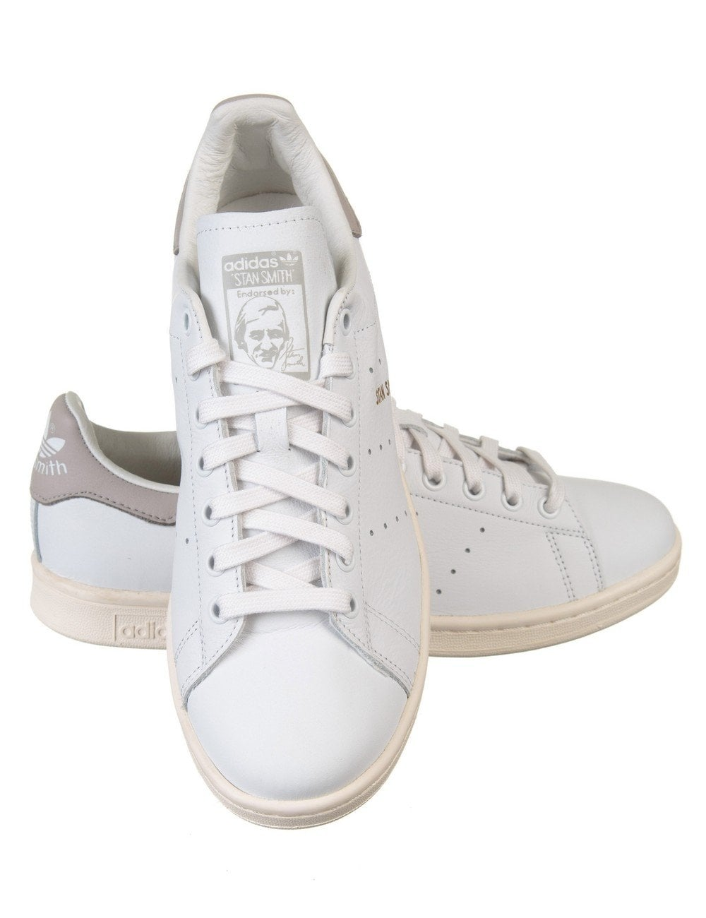 newest 8aae4 c1d5e Stan Smith Shoes - White/Grey