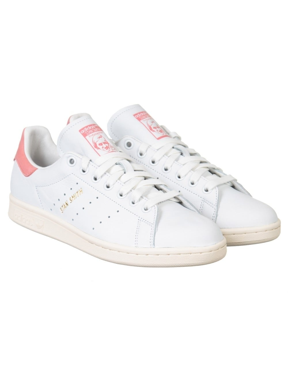 super popular bbfdd c2f42 Stan Smith Shoes - White/Ray Pink