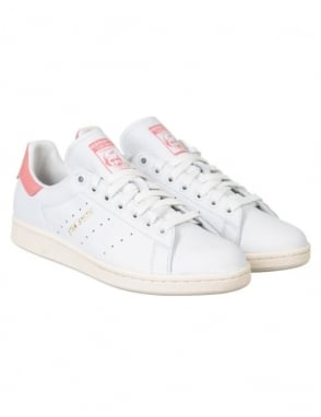 Adidas Originals Stan Smith Shoes - White/Ray Pink
