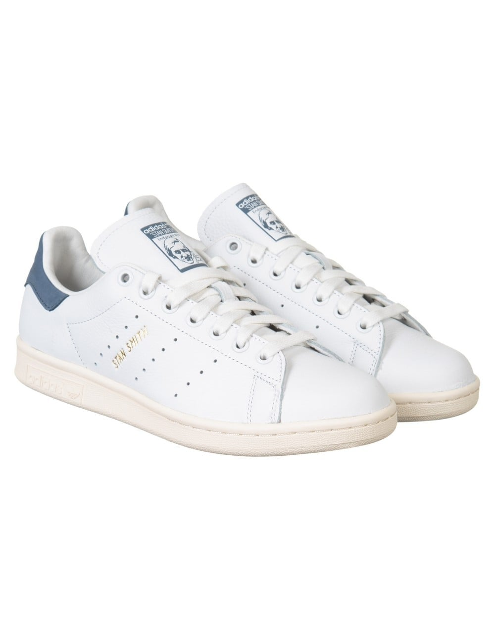 Adidas Originals Stan Smith Shoes - White Tec Ink - Trainers from ... 407e834fdb56