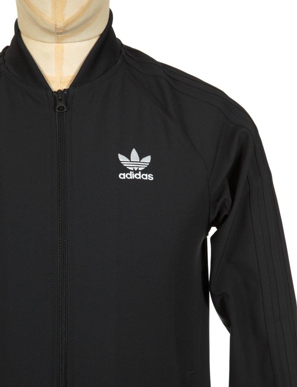 Adidas Originals Superstar 2 0 Track Top Black Black Clothing