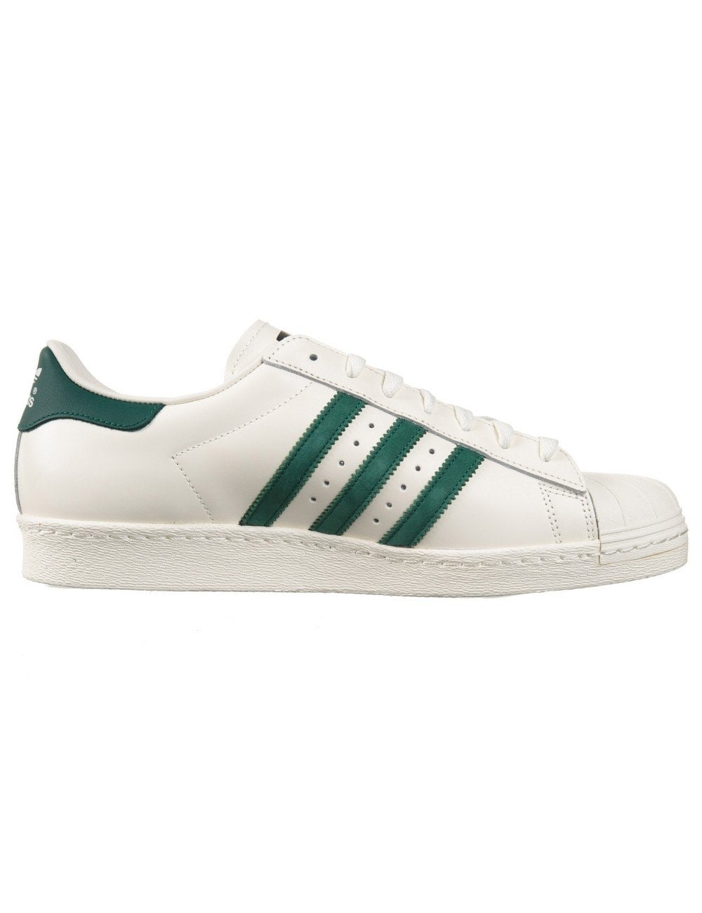 reputable site 4bc2d 5be7b Superstar 80s Delux Shoes - Vintage White/Green
