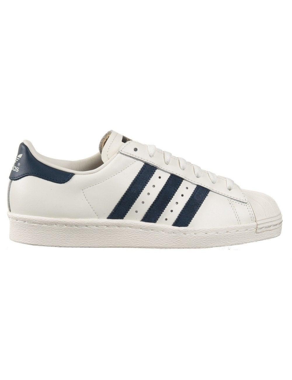 Superstar 80s Delux Shoes Vintage WhiteNavy