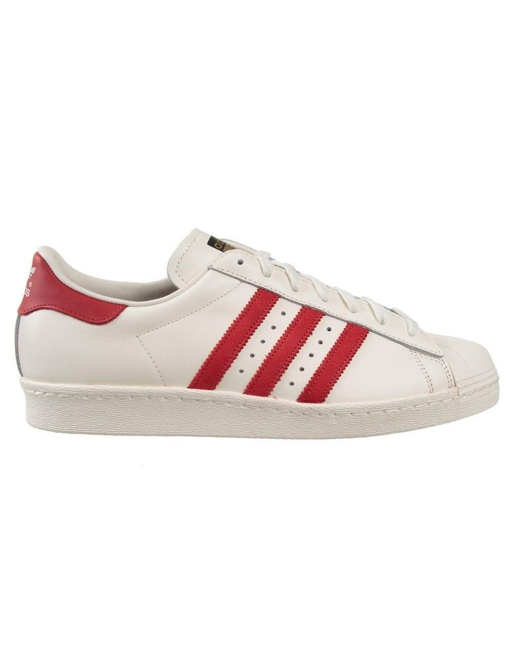 adidas superstar 80s red
