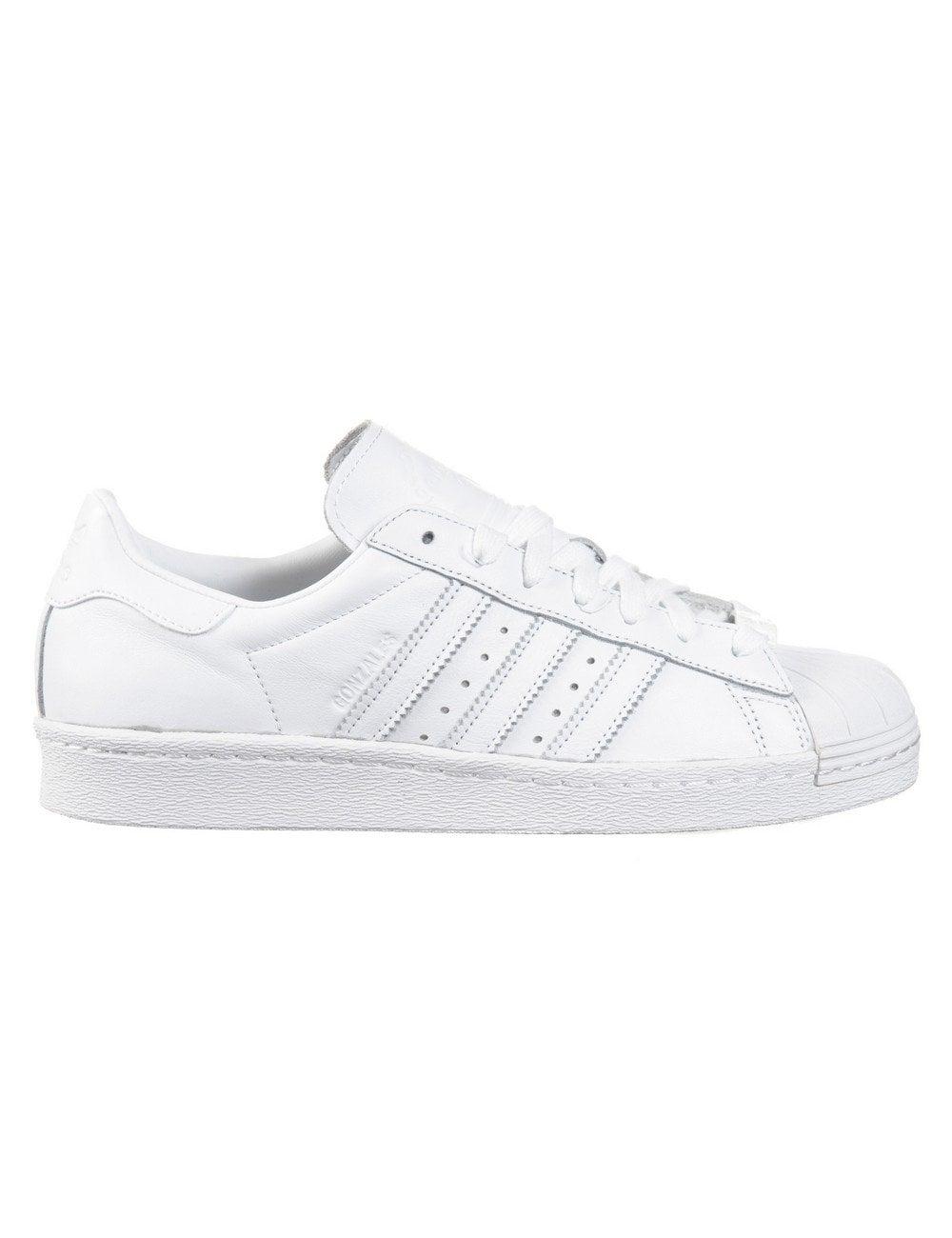Superstar 80s Gonzales Shoes , Wht/Wht