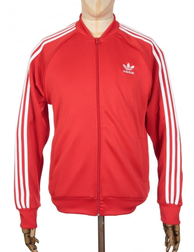 Adidas Originals Superstar Track Top - Vivid Red