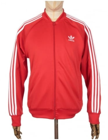 Adidas Originals Superstar Track Top - Vivid Red