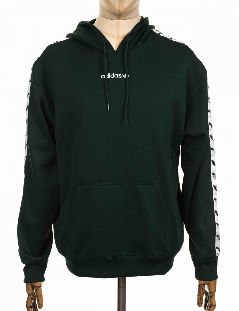 4c639cce5f TNT Tape Hooded Sweatshirt - Green Night/White