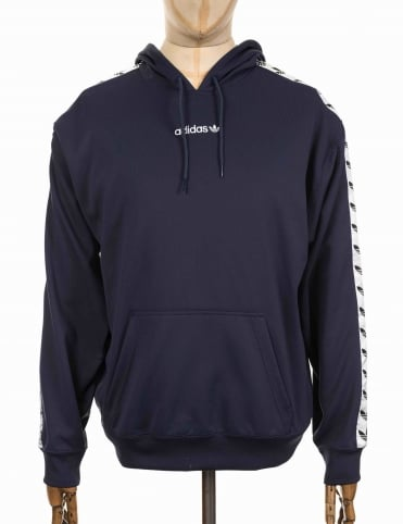 TNT Tape Hooded Sweatshirt - Trace Blue/White