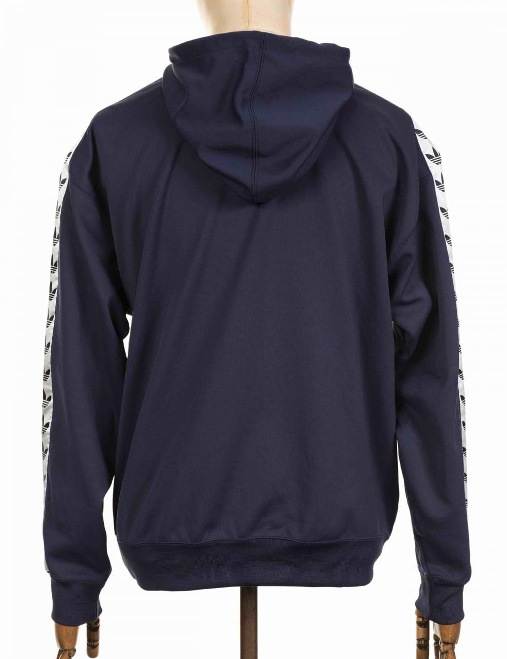 TNT Tape Hooded Sweatshirt Trace BlueWhite