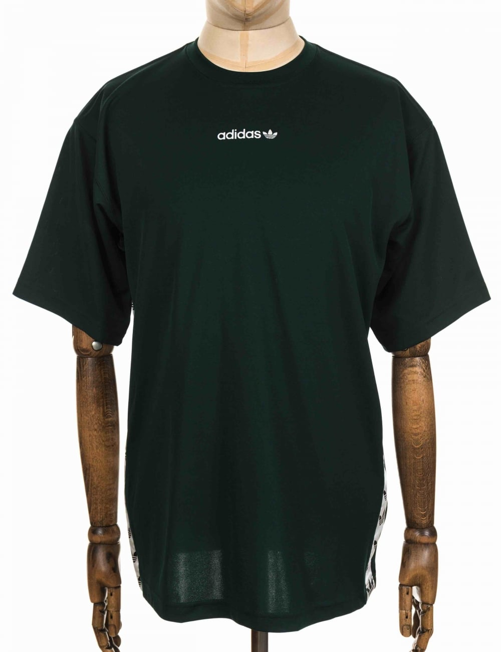 lowest price d0df5 f22c5 Adidas Originals TNT Tape T-shirt - Green Night White