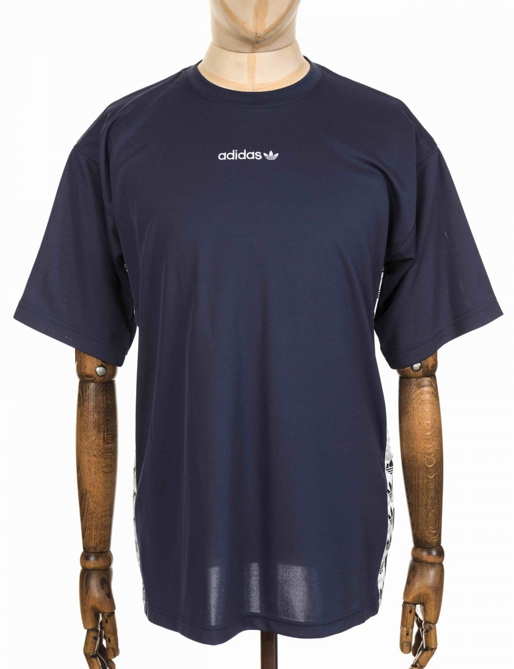 adidas originals tnt tape tshirt trace bluewhite