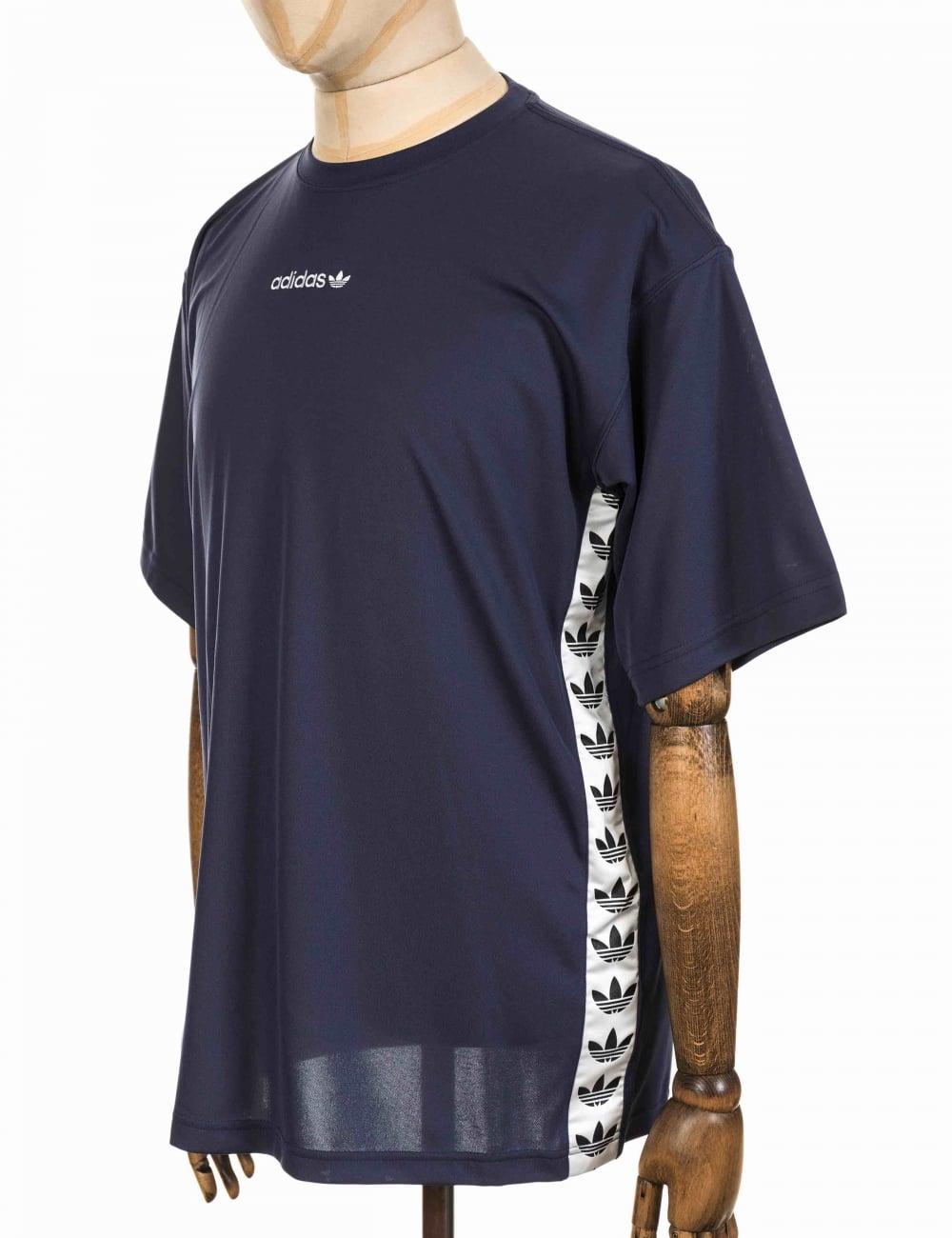 TNT Tape T-shirt - Trace Blue/White