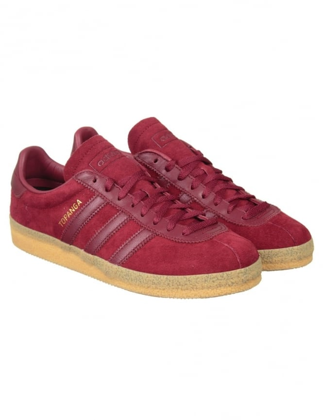 Adidas Originals Topanga Shoes - Burgundy