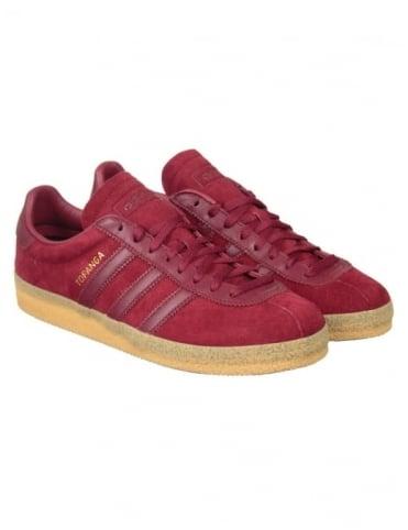 Adidas Originals Topanga Shoes - Burgundy