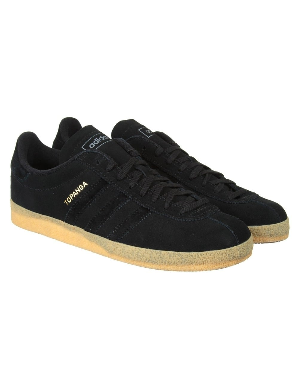 cheaper f59db 2ebf7 Adidas Originals Topanga Shoes - Collegiate Black Gum