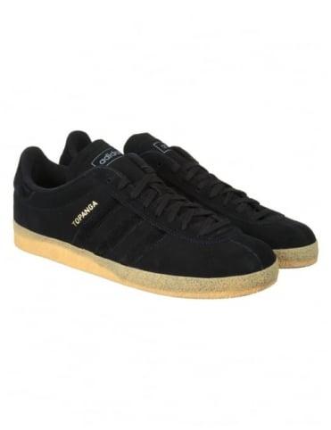 Adidas Originals Topanga Shoes - Collegiate Black/Gum