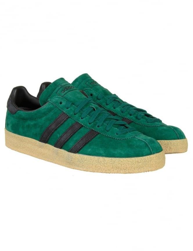 Adidas Originals Topanga Shoes - Colllegiate Green/Core Black