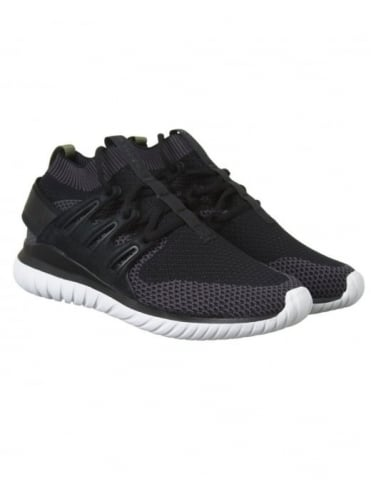 Adidas Originals Tubular Nova PK Shoes - Black/Core Black