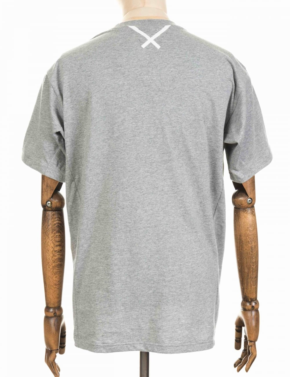 7246d0e5 Adidas Originals X by O Tee - Heather Grey - Clothing from Fat ...
