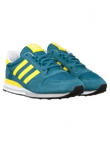 Adidas Originals ZX 500 OG Shoes - Surf Petrol/Yellow