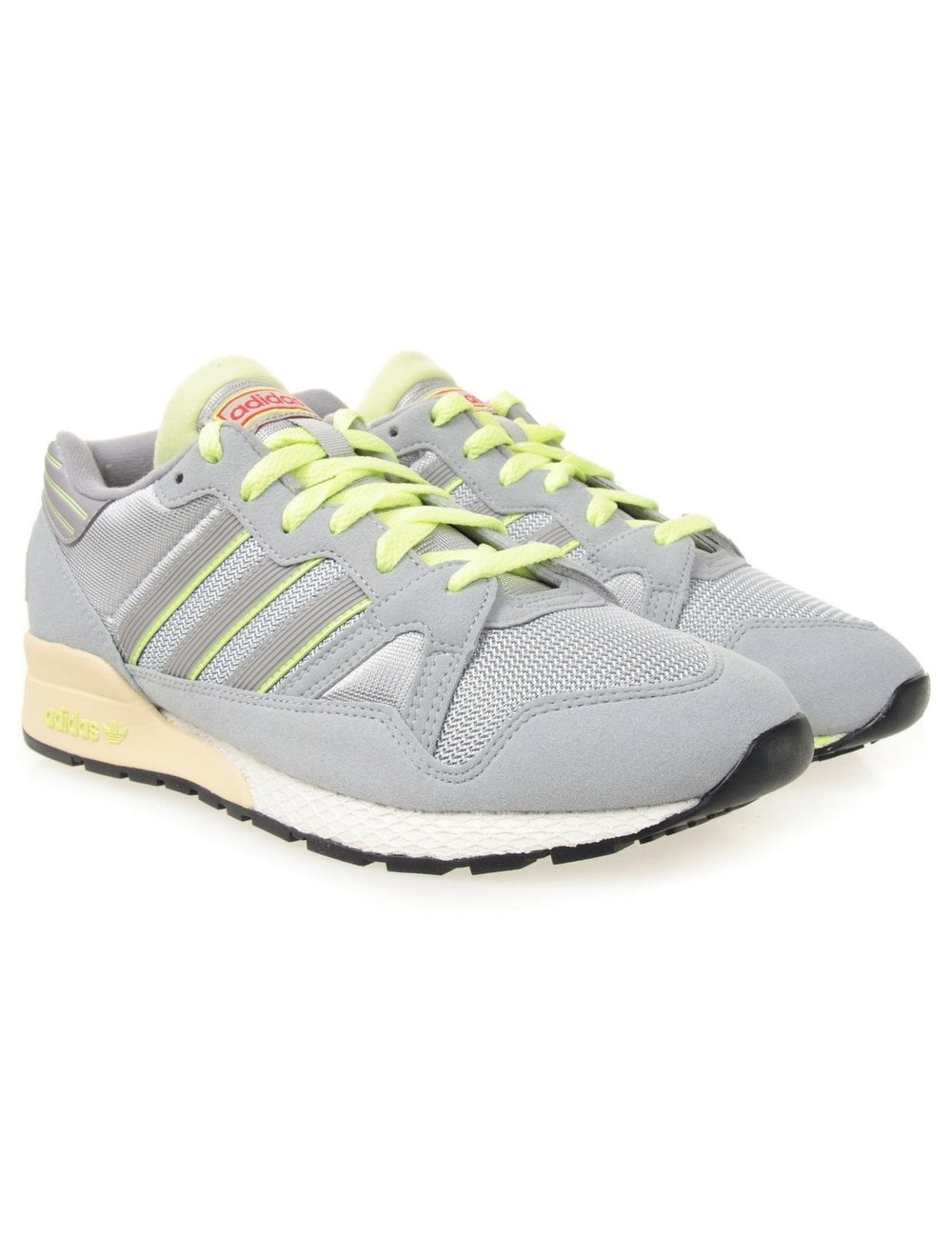 24347ff6f Adidas Originals ZX 710 Shoes - Ice Grey - Footwear from Fat Buddha ...