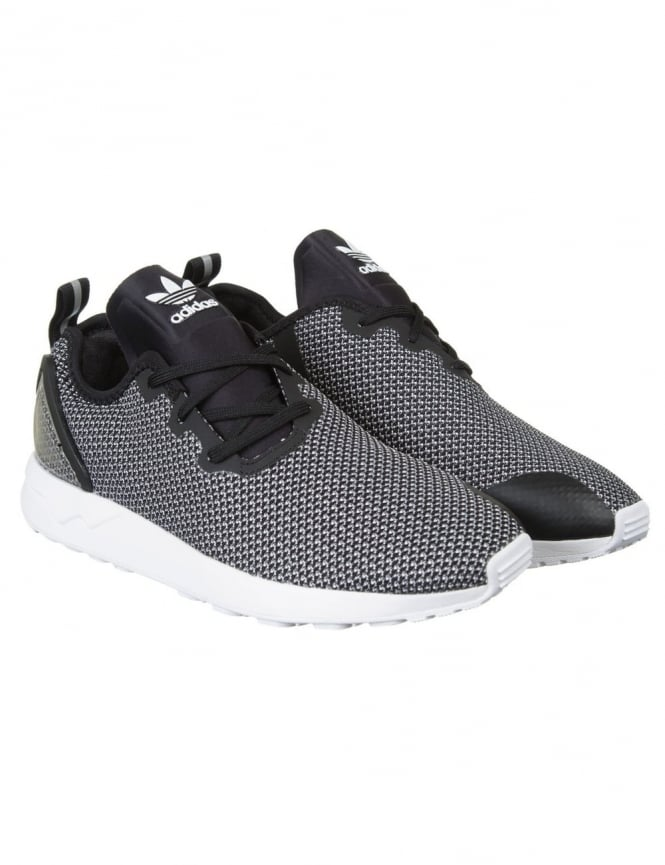 79ae6ef40 Adidas Originals ZX Flux Racer ASYM Shoes - FTWRWhite Core Black ...