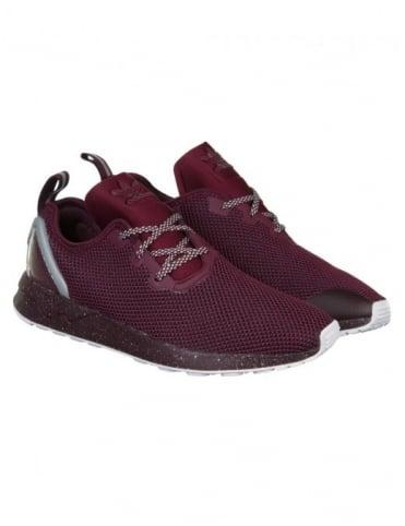 Adidas Originals ZX Flux Racer ASYM Shoes - Maroon