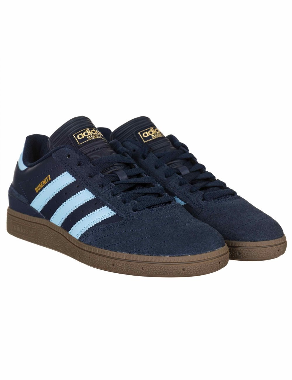 best value c30b0 e499b Adidas Skateboarding Busenitz Pro Trainers - Collegiate NavyCL Blue