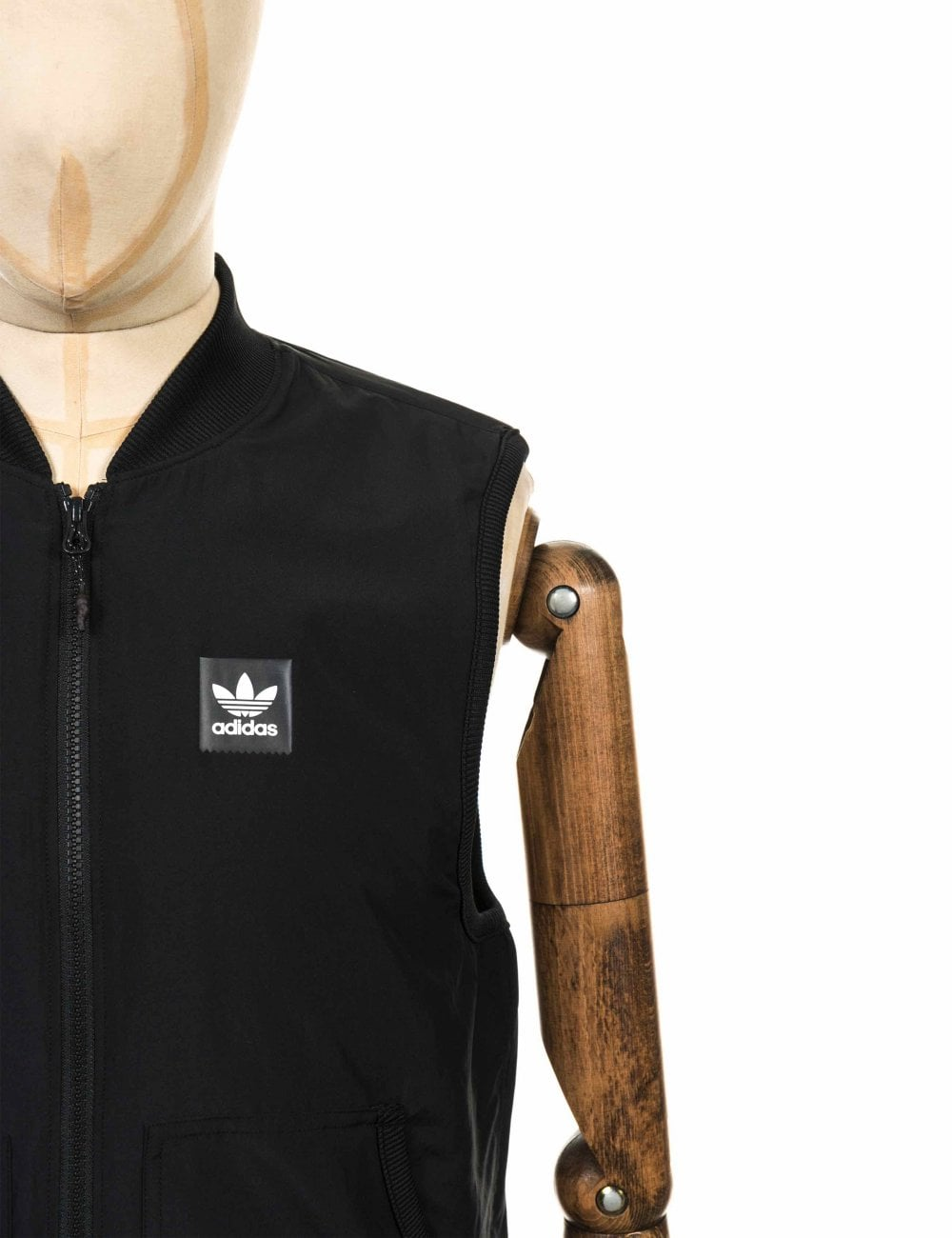 Imperialismo Bajar Cantidad de dinero  Adidas Skateboarding Meade Vest - Black/White - Clothing from Fat Buddha  Store UK