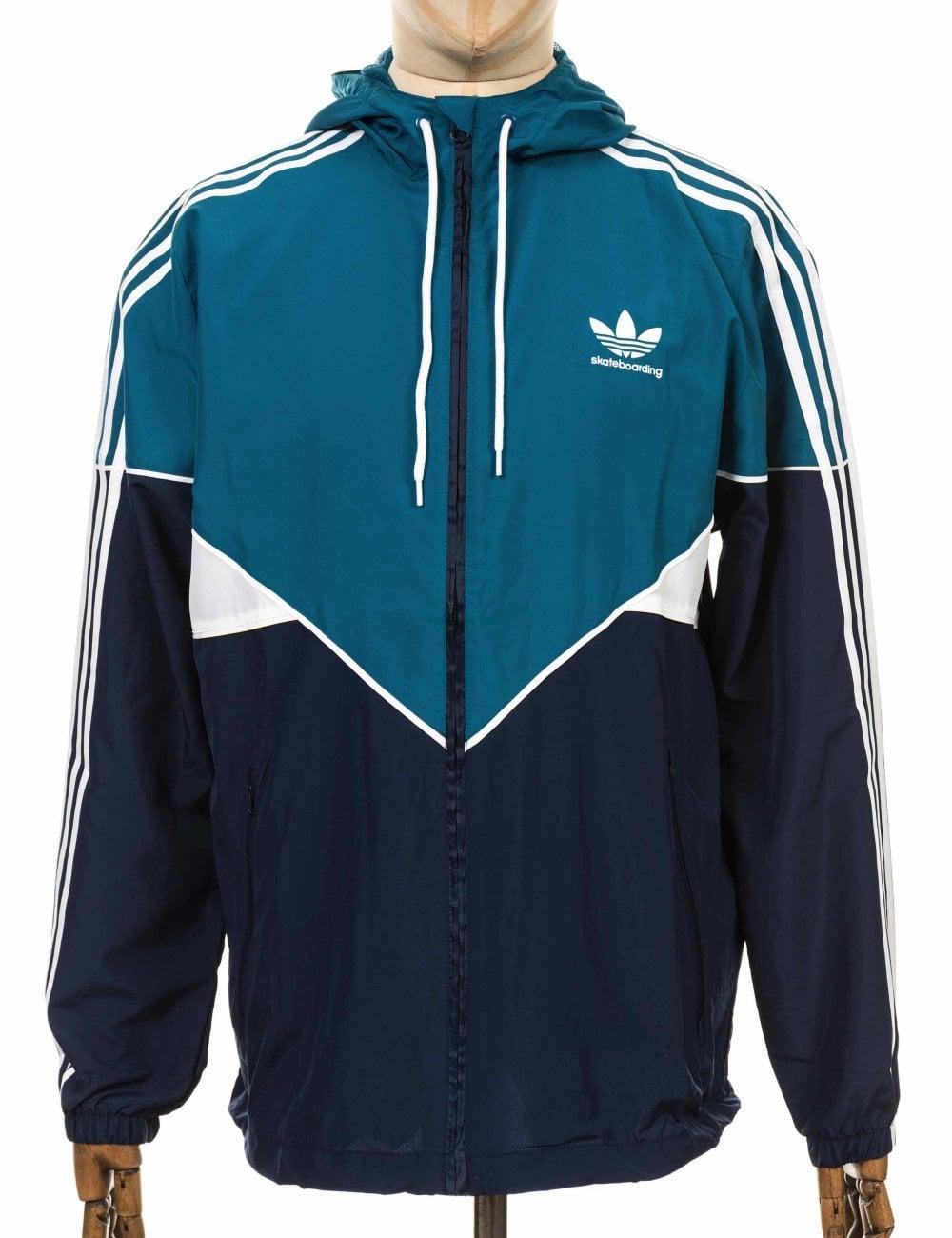 Premier WB Jacket Real TealCollegiate Navy
