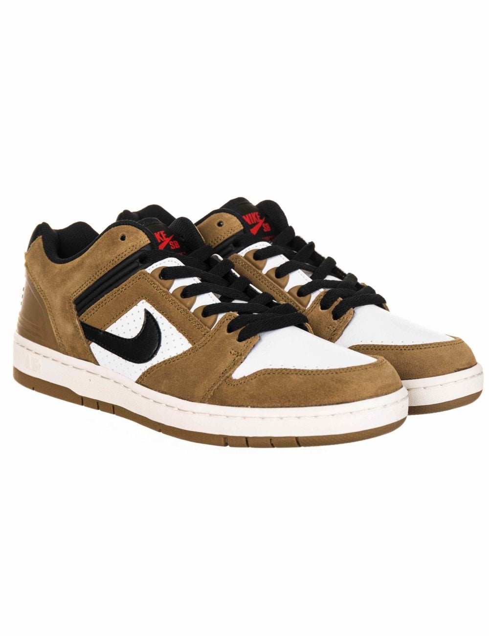 a few days away cheap price temperament shoes Air Force II Low Trainers - Lichen Brown/Black