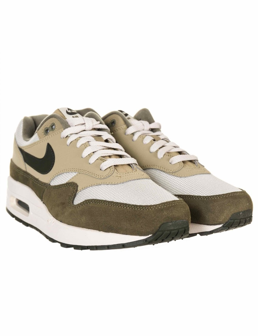 aef28009d471 Nike Air Max 1 Trainers - Medium Olive Sequoia - Footwear from Fat ...