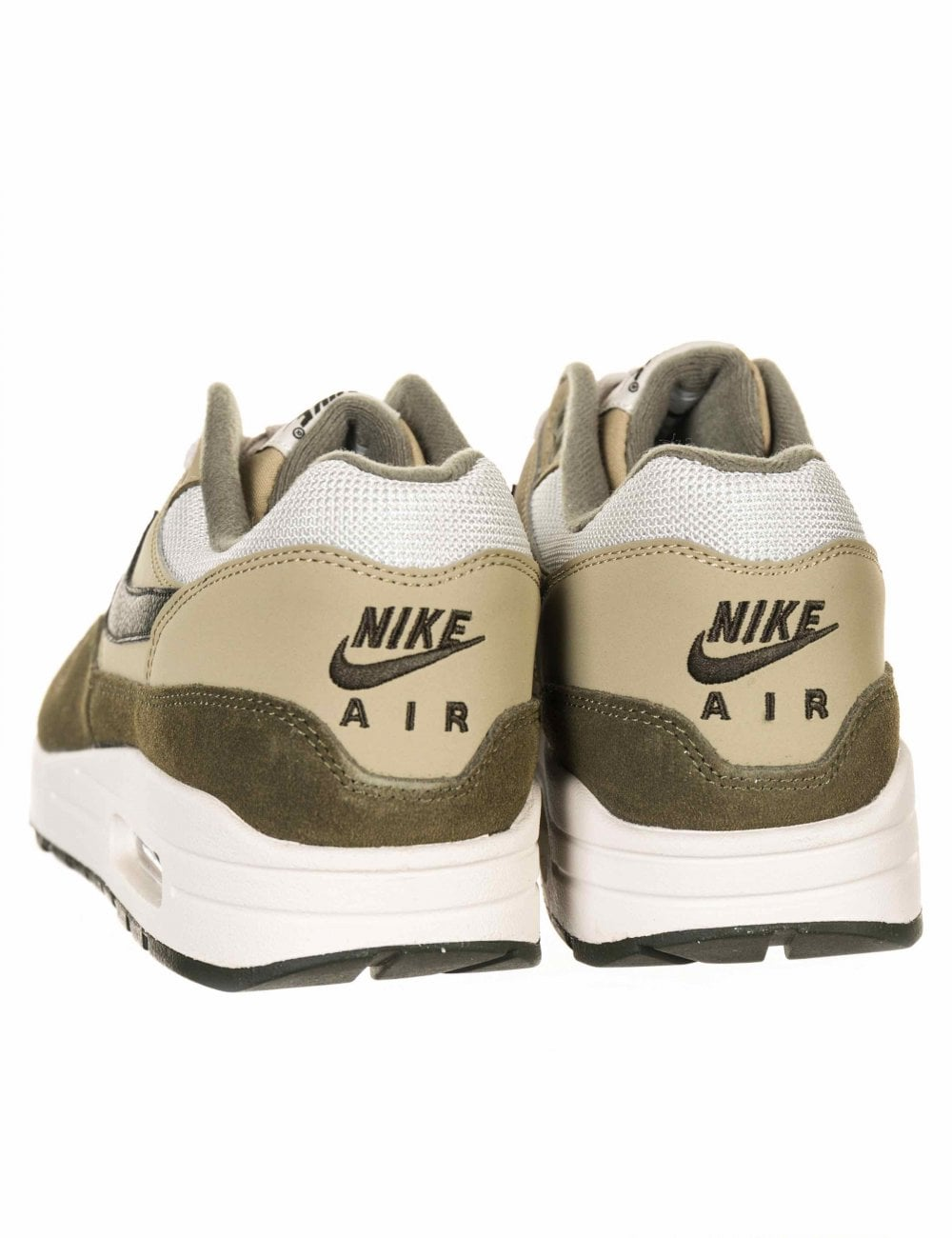 ad0a78ddb2e6 Nike Air Max 1 Trainers - Medium Olive Sequoia - Footwear from Fat ...