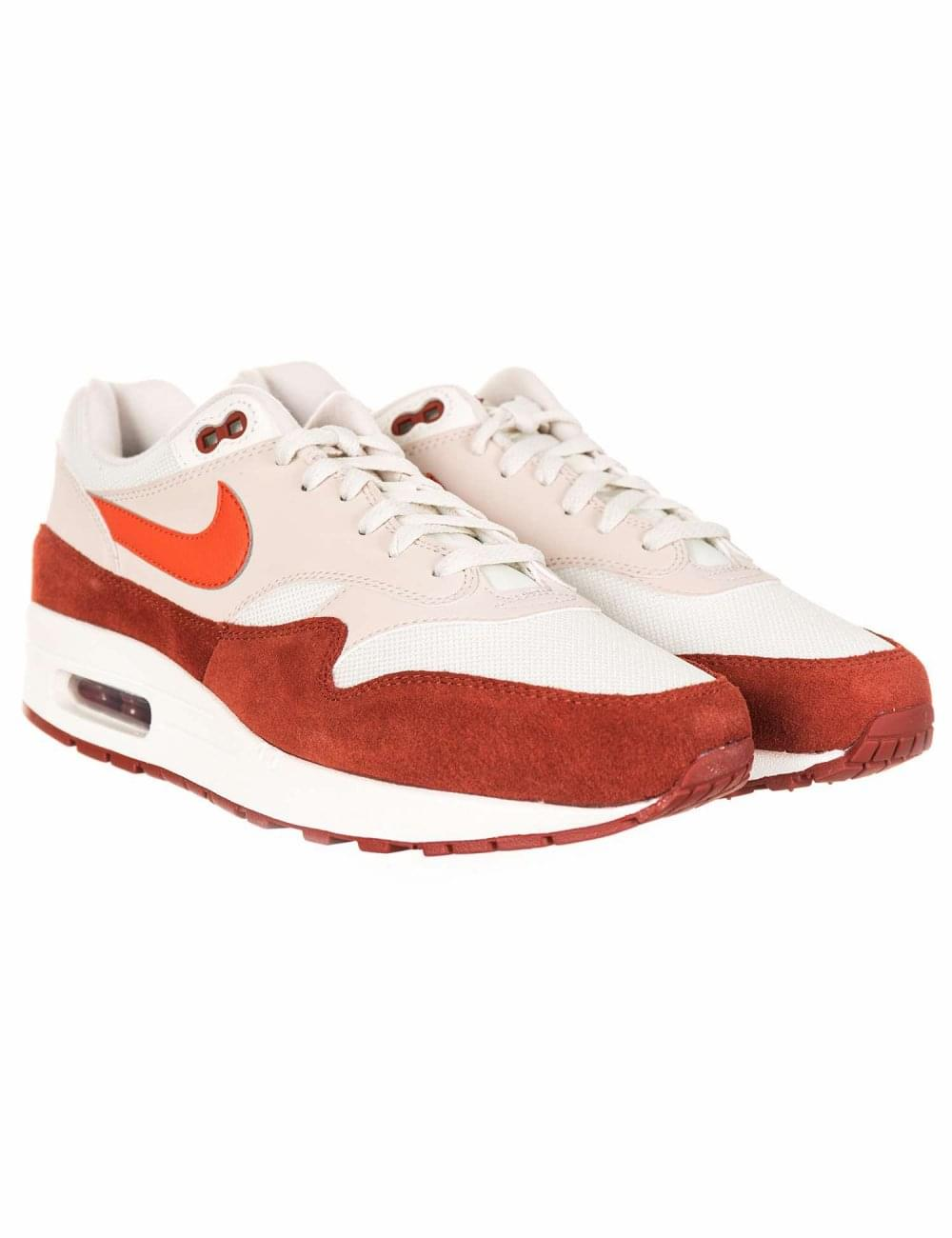 d2cfa8a38a Nike Air Max 1 Trainers - Sail/Vintage Coral/Mars - Footwear from ...