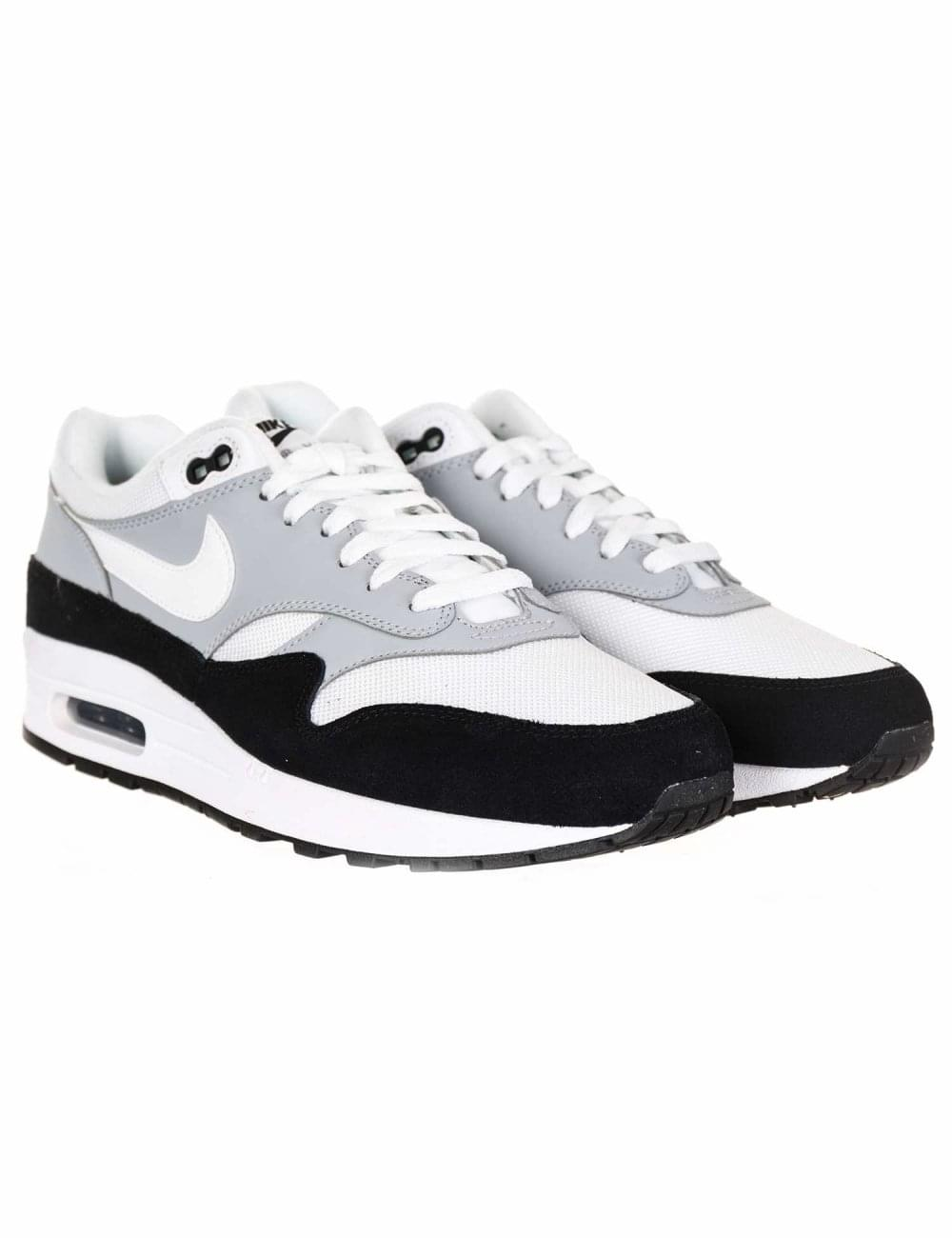 finest selection 33656 9f7d8 Air Max 1 Trainers - Wolf Grey Black