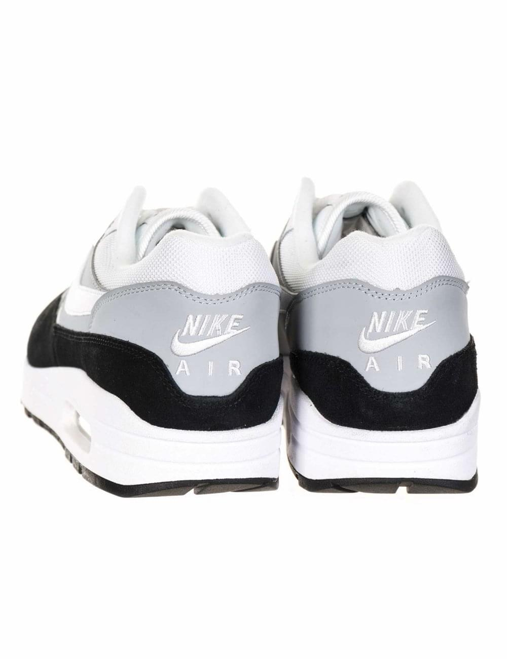 3a47e43f82b6a Nike Air Max 1 Trainers - Wolf Grey Black - Footwear from Fat Buddha ...