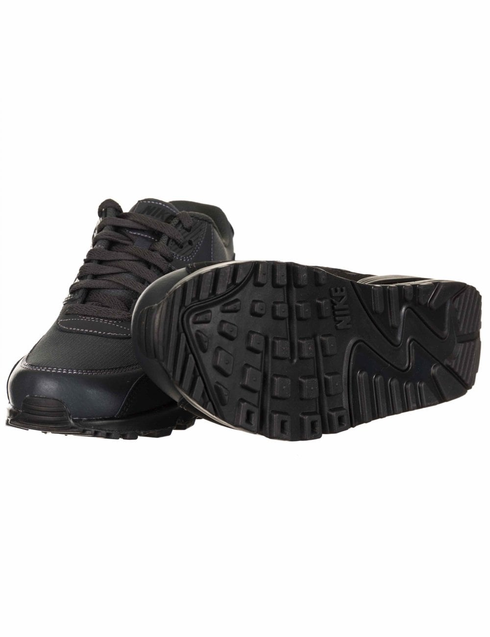 cheap for discount 418df b2b63 Nike Air Max 90 Essential Trainers - Black Anthracite