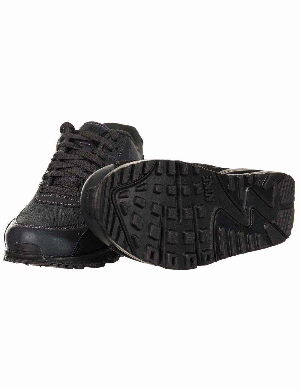 good quality big discount pretty cheap Nike Air Max 90 Essential Trainers - Black/Anthracite - Footwear ...