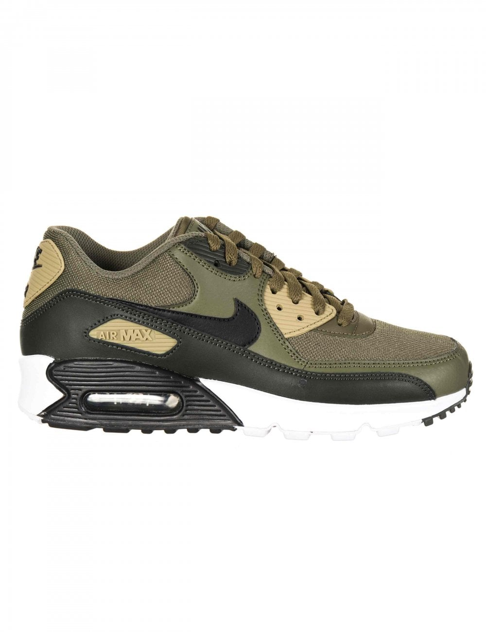Nike Air Max 90 Essential Trainers Medium OliveBlack